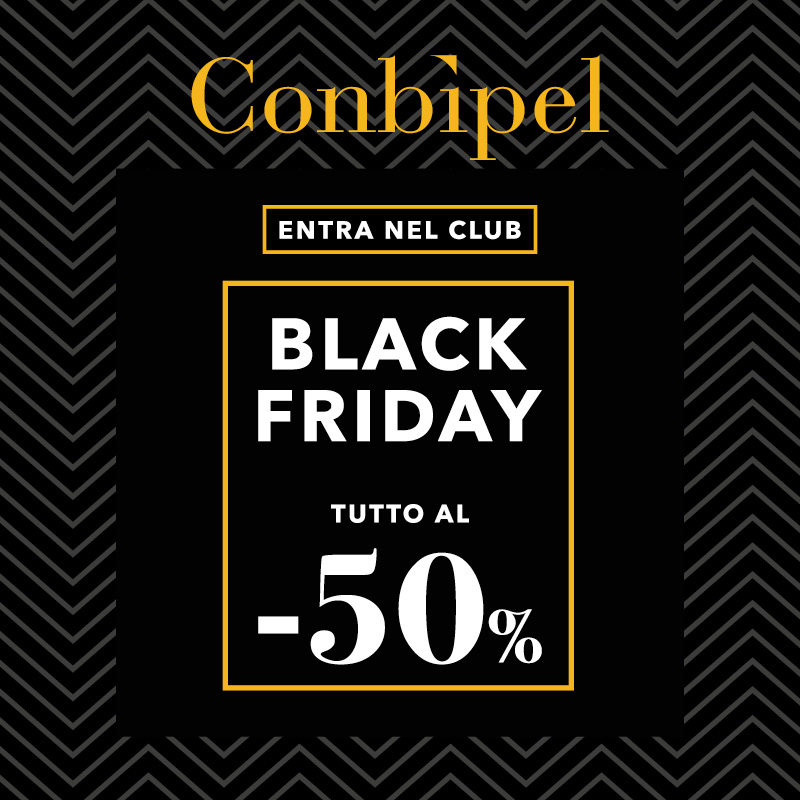 CONBIPEL AL 50% CON IL BLACK FRIDAY