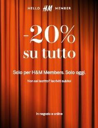 H&M BLACK Thursday